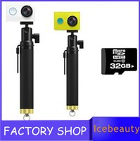 Wholesale Hot Original xiaomi xiaoyi sports camera hd action CMOS MP x1080p mAh WIFI Bluetooth GPU Up to GB and drop ship
