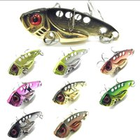 crappie jigs - Fishing Lure Blade Lure VIB Hard Bait Fresh Water Shallow Water Bass Walleye Crappie Minnow Fishing Tackle