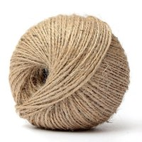 Wholesale 100M Ply Natural Jute Twine Burlap String Cord Wrap Gif Craft Making Decoration order lt no track