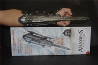 Wholesale Assassins Creed Unity Black Flag Pirate Hidden Blade Edward Kenway Cosplay New in Box Cosplay Props weapons Accessories