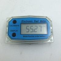 Wholesale G1 Turbine Digital Diesel Fuel Flow Meter Electronic Flow Measurement Device Plus Methanol Metering Pumps Pumping Count