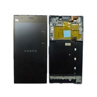 Wholesale New Touch digitizer LCD Display Frame For miui XIAOMI MI3 M3 WCDMA