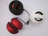 Wholesale X Mini speaker MP3 phone portable notebook sound hamburger mini speaker