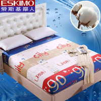bedroom set mattresses - 1PCS Bed Cotton Cartoon Fitted Sheet Set Twin Full Queen Size Bedspread Protection Pad Mattress Cover Sheet