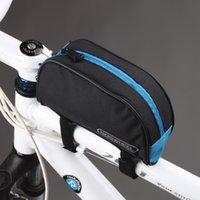 bicycle frame parts - Cycling Bicycle Bike Bag Parts Front Frame Head Pipe Bag Pouch Bags For Outdoor Sport Accessories