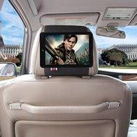apple ipad release - TFY Car Headrest Mount Holder for iPad Mini Fast Attach Fast Release Edition Black