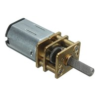 Wholesale New Arrival High Quality DC V RPM Mini Metal Gear Motor With Gearwheel Model N20 mm Shaft Diameter