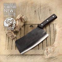 big butcher knife - High quality handmade household chop bone knife big bone cutter chef Professional Butcher knife Kitchen Artifact