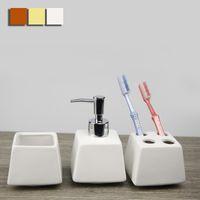 bathroom accessories - Fashion New Hot Ceramic Bathroom Accessories Pieces Set Bathroom Set Wash Cup Toothbrush Holder Bathroom Bottle JI0034 salebags