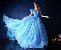 masquerade ball gowns - Novel Style Sky Blue Cinderella Quinceanera Dresses with Butterfly Off Shoulder Piping Layered Vestido Adulto Masquerade Prom Ball Gowns