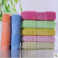 hand towels - 100 cotton face towel not fade cotton hand towels washcloth super soft and brand gift terry towel cm seven colors