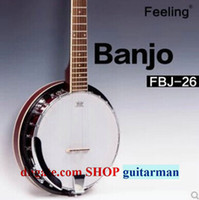 Wholesale Feeling FBJ solidwood banjo strings banjo ON SALE factory