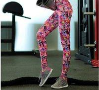 Wholesale Colorful Printing Women Yoga Leggins Running Gym Fitness Pants Pantalones De Yoga Para Mujer XL Leopard Flower