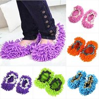 Wholesale 1Pcs Dust Floor Cleaning Slippers Shoes Mop HOUSE Clean Shoe Cover Multifunction