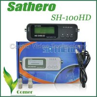 Wholesale Hot selling Sathero Pocket Digital Satellite Finder Meter HD Signal Digital Sat Finder HD SH HD