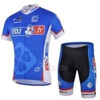 Wholesale 2015 FDJ Team cycling jersey cycling clothing cycling wear short bib suit fdj d bianchi cycling jerseys cervelo cycling jerseys