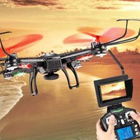 Wholesale JJRC V686 FPV Drone G CH G FPV RC Quadcopter With Camera P HD MP FPV Camera Headless Mode RTF Helicopter