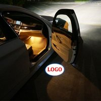Wholesale 1 Pair LED Car Door Courtesy Laser Projector Logo Ghost Shadow Light for BMW E60 E63 E90 E92 E93 X1 X3 X5 X6 M3 M5 order lt no track