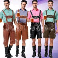 beer trading - Men serve beer party with traditional Bavarian clothes Four color clothing foreign trade the original single beer new