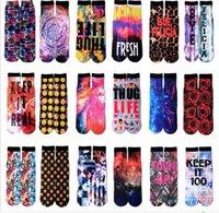 basketball transfer - Foreign trade trend of d digital stereo dye printing socks socks thermal transfer more street basketball lovers terry socks