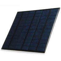 ELEGEEK 6pcs / lot al por mayor 3.5W 18V 165 * 135m m El panel solar libre del silicio policristalino del envío de la resina epoxi mini para la prueba solar y DIY