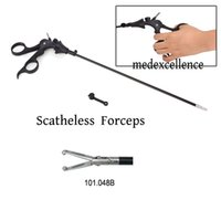 Wholesale Quality Guaranteed CE Approved Scatheless Forceps X330mm Laparoscopic Grasing Grasper Rotate B