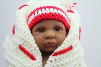 Cheap Unisex Baby Born Toys Best 3-4 Years Vinyl American Baby Doll