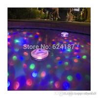 Wholesale 6V AAA Underwater LED Aquarium Light Show for Pond Spa Hot Tub Disco LED Swimming Pool Light Freeshipping A5