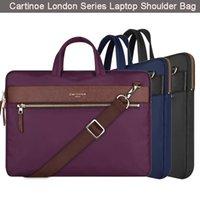 backpacks macbook case - Cartinoe Brand Universal inch Notebook Laptop Shoulder Bag Nylon Waterproof Computer Case Cover Sleeve HandBag