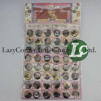 Wholesale Rtail one sheet Fashion Batman Badge Button Pins Children Popular Party Gifts cm