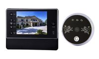 access viewer - Door Viewer inch home Digital LCD Screen Door Peephole Viewer Phone System Doorbell Access Control