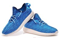 Cheap FREE SHIPPING 2016 Newest Fashion Sky Blue YEEZY 350 WOMENS MENS Outdoor Casual Shoes Popular Top Quality Classic Sport Boots Many Colors