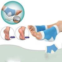 Wholesale Geel Heel Socks Moisturing Spa Gel Socks feet care product for cracked heels Dry Feet Beauty Skin