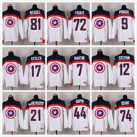 america team - 2015 New Team USA Captain America Fashion kessel faulk parise stastny kesler martin Ice Hockey Jersey