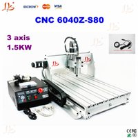 Wholesale top ten selling products Z S80 CNC router KW Ball Screw metal etching machine cnc metal engraving machine