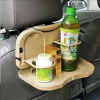 Wholesale Foldable Drink Holder With Dining Table Car Cup Holder Cage Automotive Supplies Plastic x CM