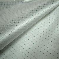 Wholesale Limited white diamond silver point line brocade fabric silk satin fabric costume outfit hanfu garment of Eva