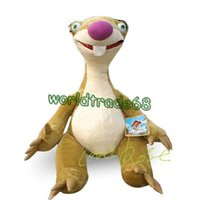 age birthday present - Hot Sale cm ICE AGE III Sloth Sid Stuffed Animal SOft Plush TOYS Birthday Present Children Sloth Shid doll chirstmas gift