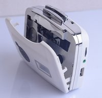 arrival cassettes black - Hot sale New arrival Super USB Cassette to MP3 Converter Capture Audio Music Player Tape into USB Flash Drive Flash Memory pen drive
