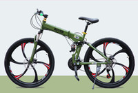 Wholesale Mountain bike gear mountain bike double disc folding one wheel road racing suspension