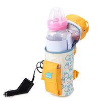 Wholesale Infant Milk Heater V CE Safe Auto Car Heater Milk Bottle Heat Insulation Baby Feeding Bottle Warmer For Baby Travel