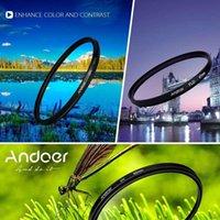 Wholesale Andoer mm Filter UV CPL FLD Circular Filter Kit Circular Polarizer Filter with Bag for Nikon Canon Pentax Sony DSLR Camera