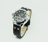 Wholesale H264 HD night watch camera The new sports watch camera Spy Watch Cameras Three series of three models