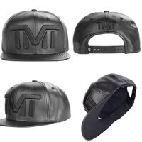 Wholesale 2015 New Arrivals The Money Team TMT Shinny Faux Leather Snapbacks Black Gold White Letter Colors Adjustable Caps Hats Mix Order