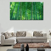 bamboo wall mirrors - Original US high tech HD Print Landscape Oil Painting Wall Decor Art on Canvas No frame bamboo forest PC