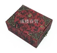 Wholesale Large high grade jade pendant jewelry pendant coated copper angle exaggerated jewelry box palette for spot