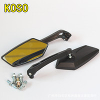 Wholesale 2016 Hd For Vision Visor Motorcycle Tuning Parts Koso Rearview Mirrors Personality Modified Diamond Mirror Universal