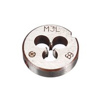 Wholesale Metric Thread Die Pitch Left Hand M3 Multiple Property kit Alloy Steel Die Wrench Set for metalworking Metal Working DIY too