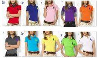 Wholesale Performance women polo shirts slim Fit Cotton Classic Fit shirts for women polo shirt
