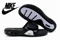 Air Lebron Deslize dos homens Nike Sandálias Scuffs alta qualidade Nike Air Max Men couro genuíno Cole Buckle Borracha Chinelos US 7-11 Eur 40-45